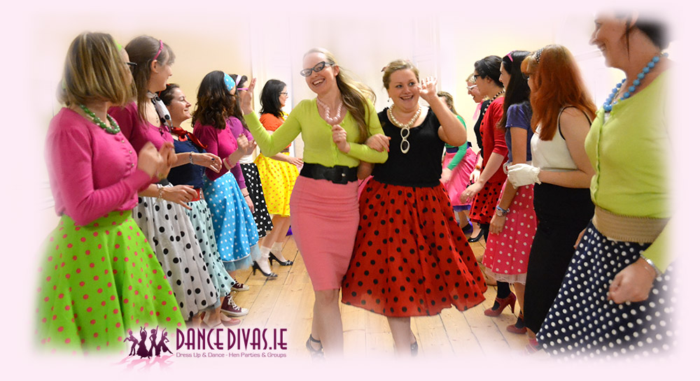 Grease Dress Up Hen Party in Galway